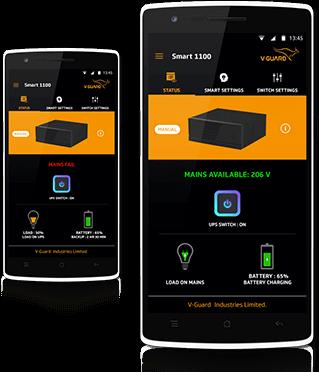V-Guard Smart Inverter Mobile App