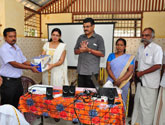 2.1 Provided Hospital Equipments to Goverment primary Health Center Kannadi