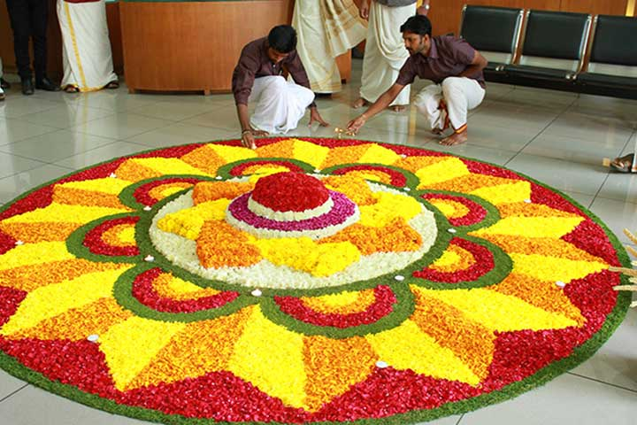 Onam celebrations at V-Guard Corporate office