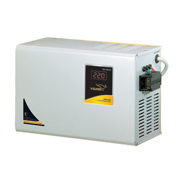 vwr 400 voltage stabilizer for ac v guard LED Circuit Diagram